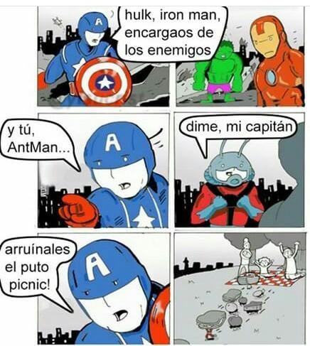 Ant-man el util - meme