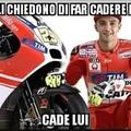 Bad Luck Iannone-Onore a Rossi-La mamma di Marquez è troia