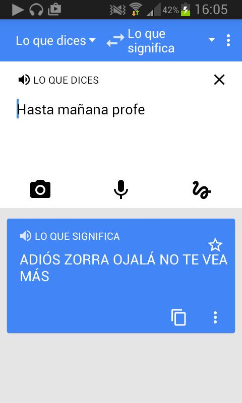 Traducción - meme