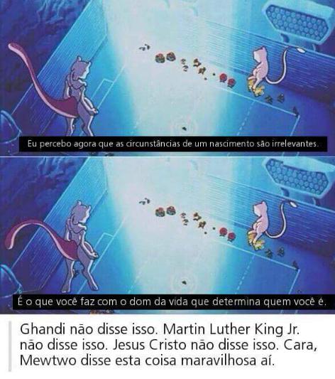 Mewtwo Linspector Pokemão - meme
