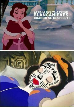 Blanca Nieves - meme
