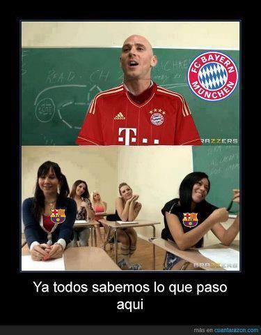 Barcelona-Bayern - meme