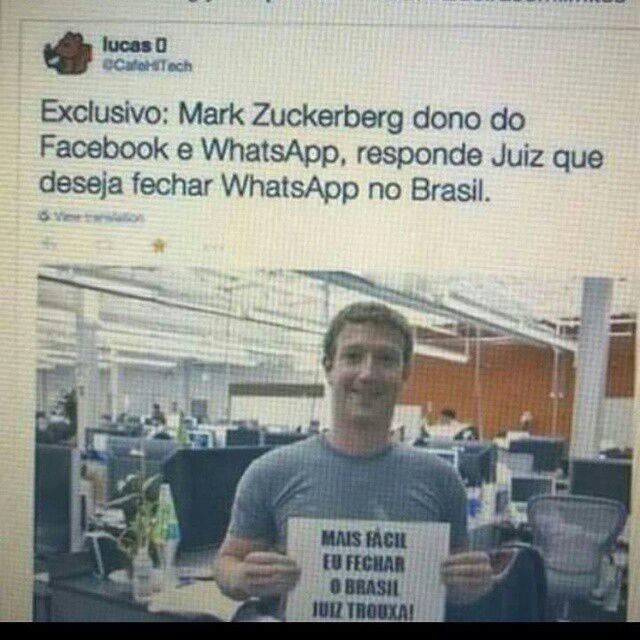Whatsapp, Facebook - meme