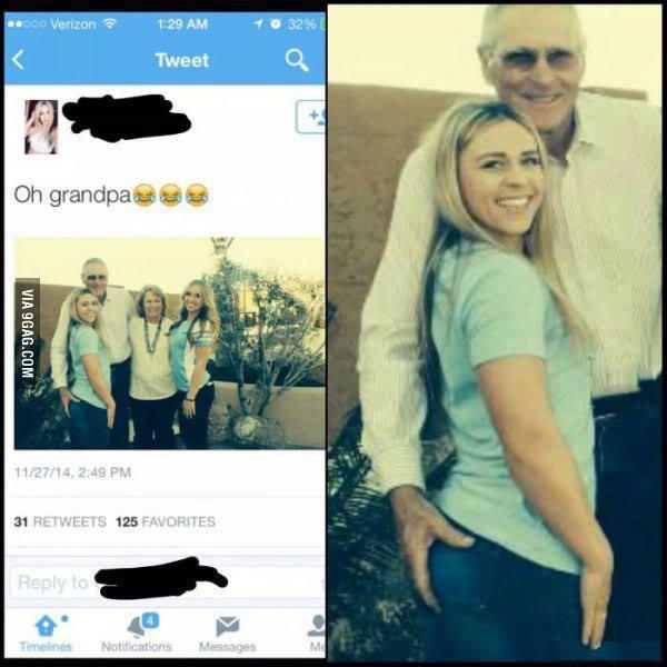 Este abuelo es un loquillo - meme