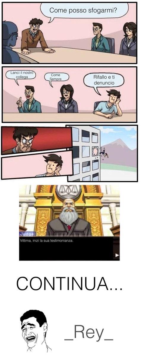 Meeting denuncia parte 1 - meme