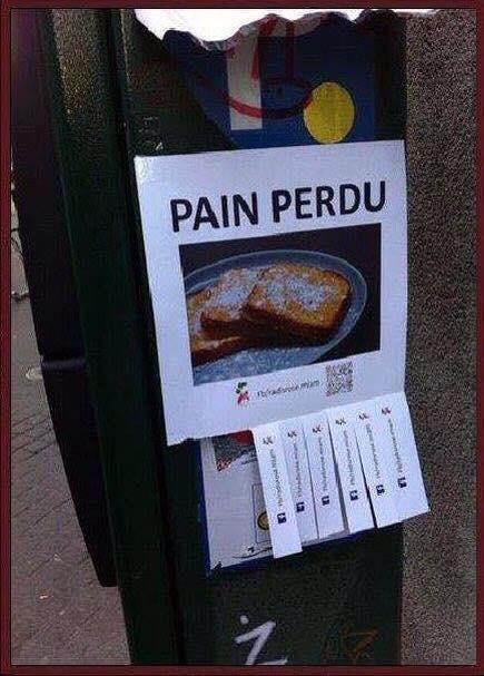 Pain trouvé - meme