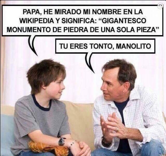 Manolito - meme