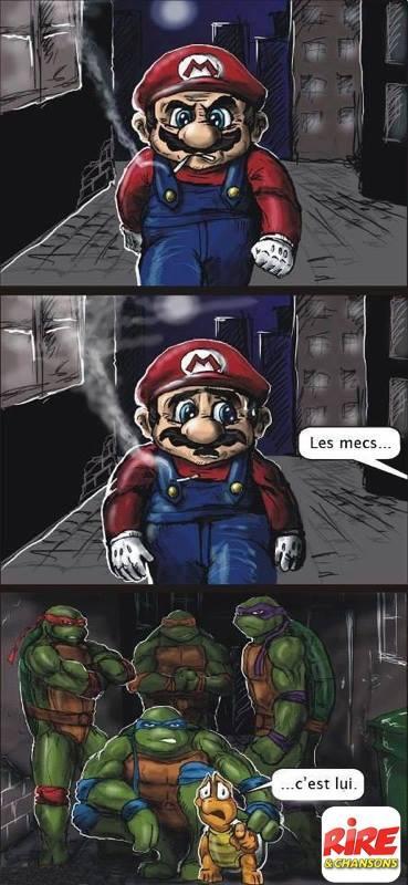 Les tortues Ninja a la rescousse - meme