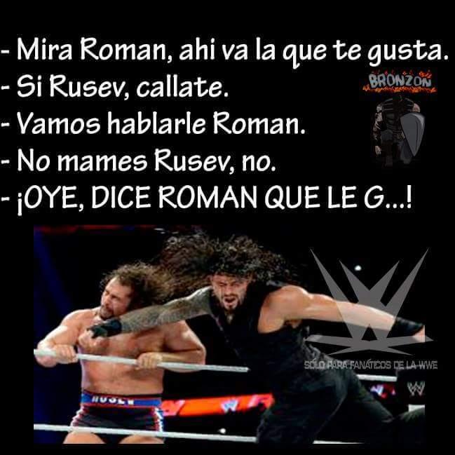 Dice Roman que le gustas :v - meme