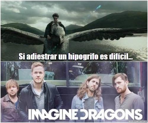 El Título está adiestrando Dragones :v - meme