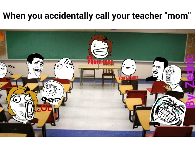 Ever did anything in school you regretted? - meme
