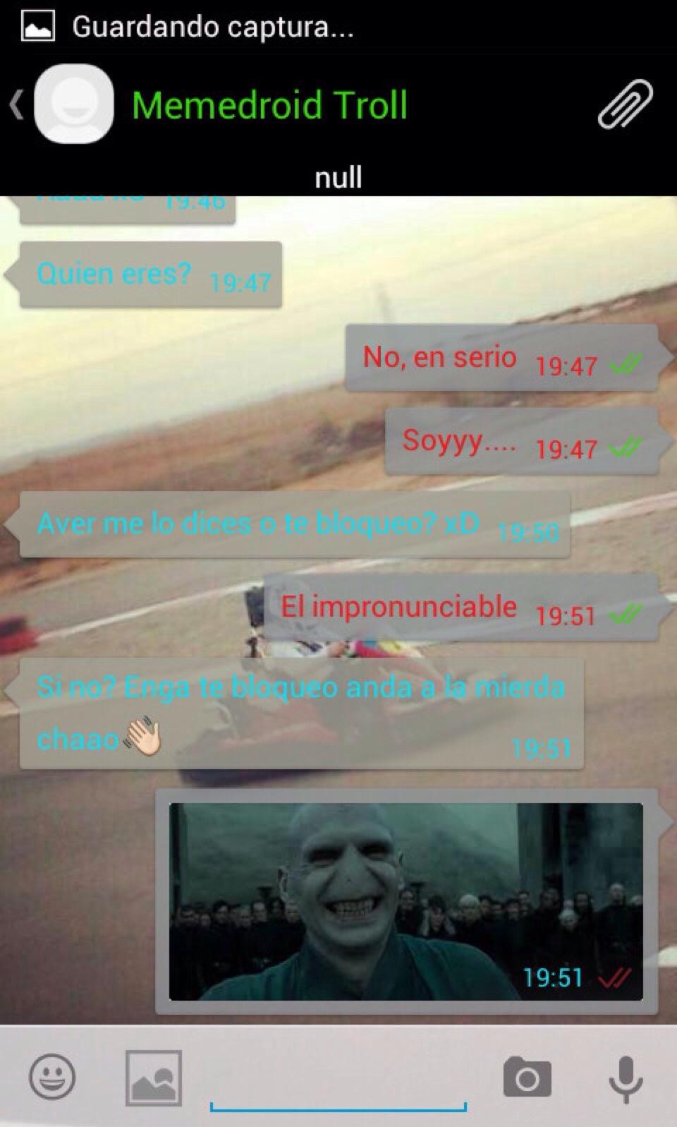 Voldemort wins - meme