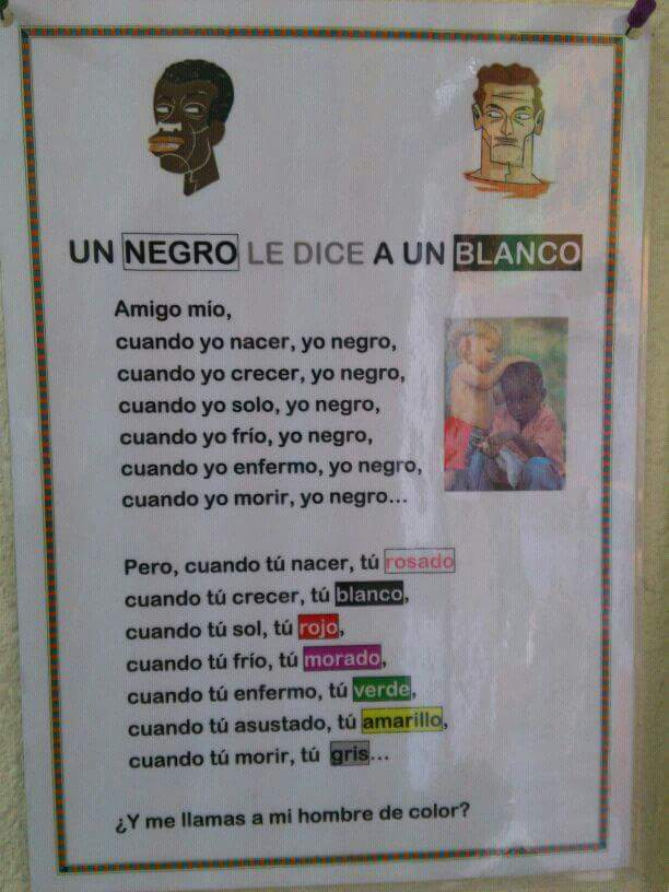 El racismo - meme