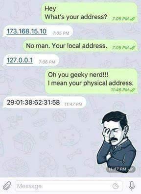 J'en peux plus de rire (le mec demande l'adresse ou il habite) - meme