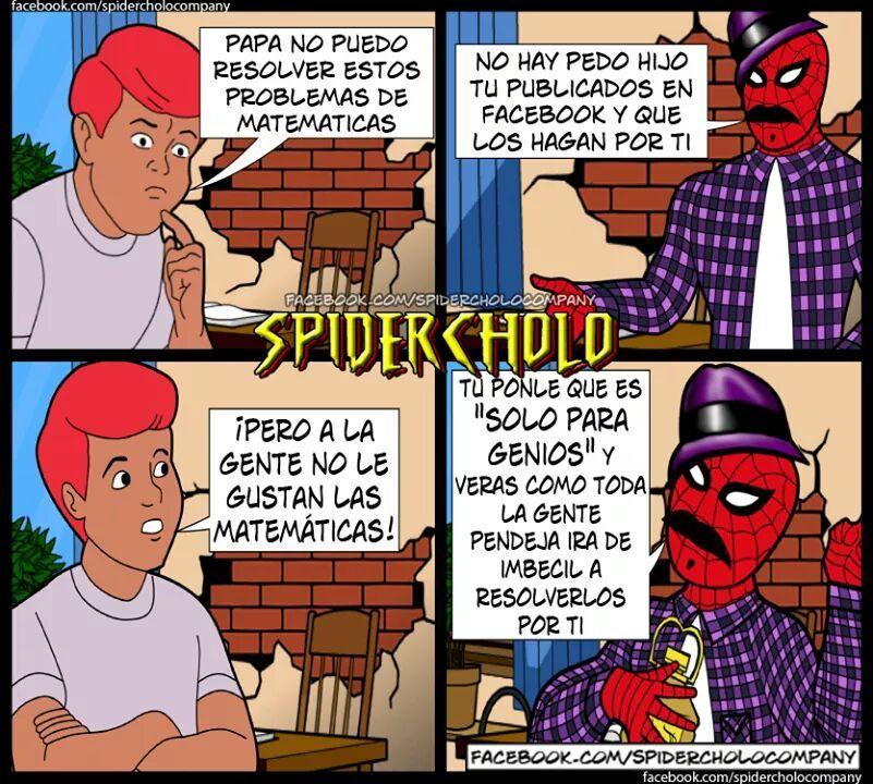 56c8f39a8c72d top memes de spider cholo en español ) memedroid