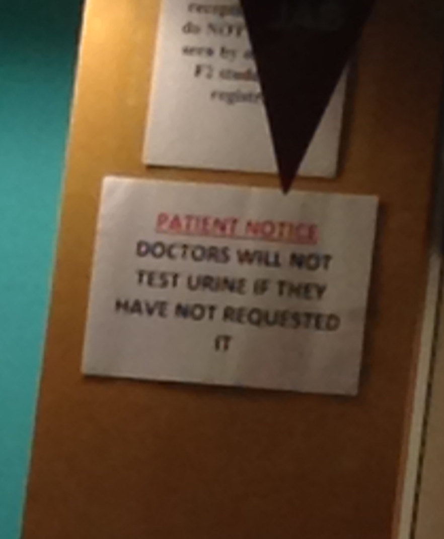 I'm concerned about the type of patients they have... - meme