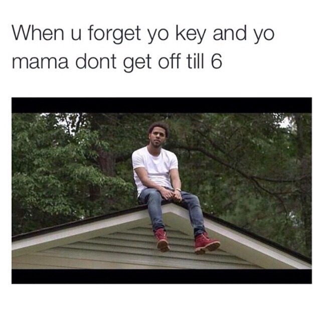 We all need J. Cole in our house - meme