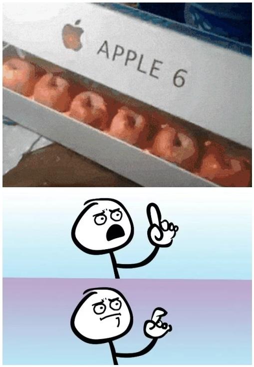 ......  apple 6 Yo tengo mi nuevo apple 6 - meme
