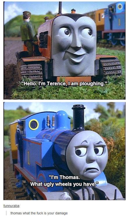 Wtf Thomas? - meme