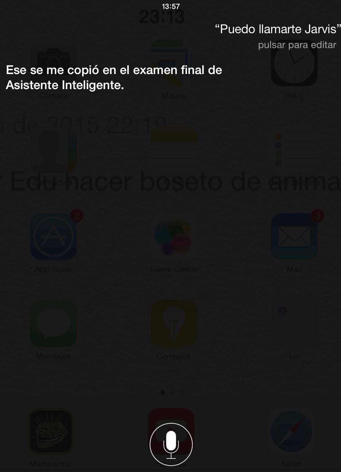 Esa Siri es una lokilla - meme