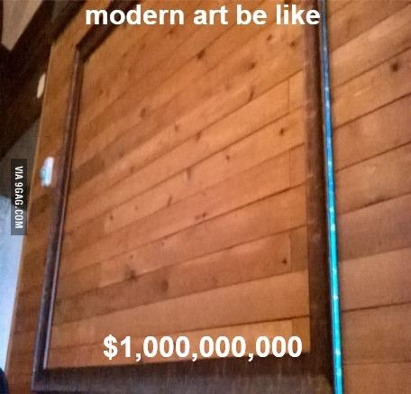 Fine art these days - meme