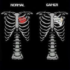 L'esprit gamer est dans ton coeur - meme