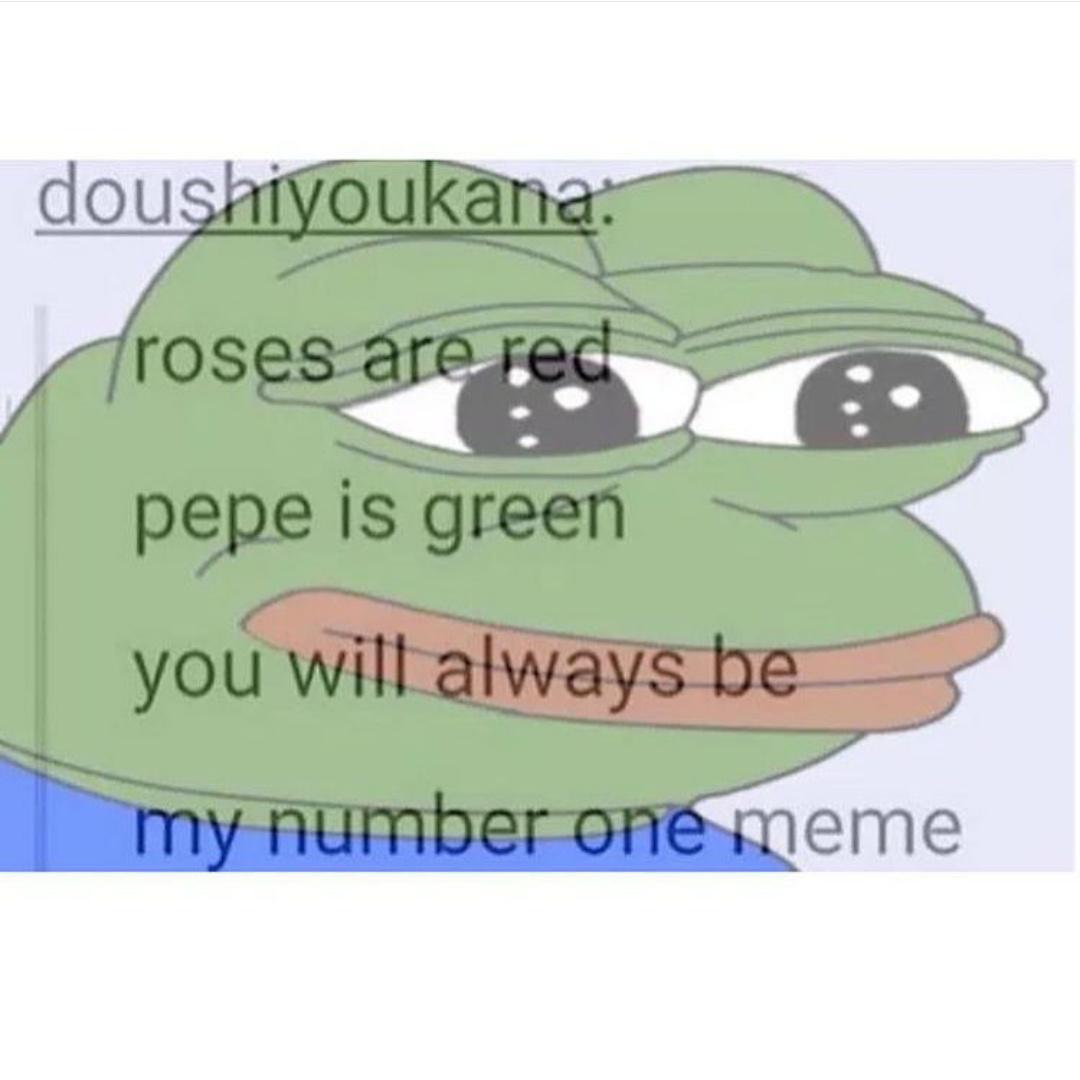 Pepe loves u - meme