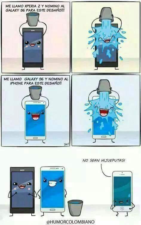Pobre iphone - meme