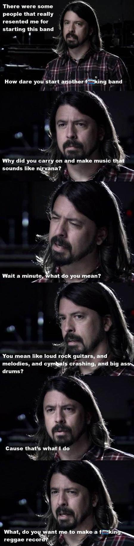 Dave Grohl everybody - meme