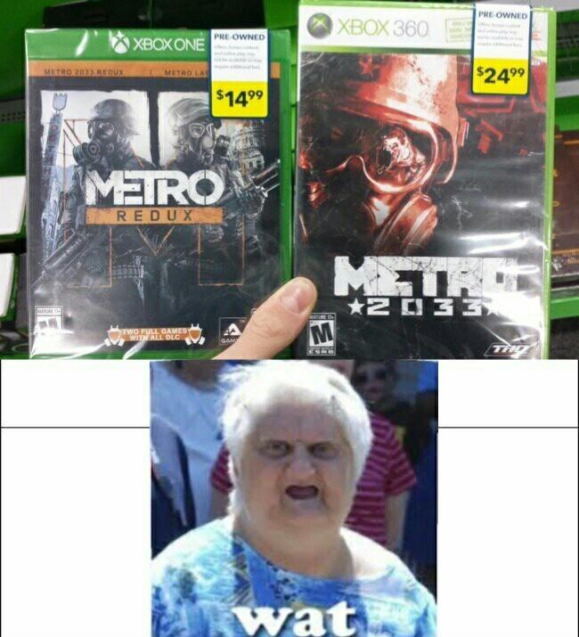 Xbox 360 est moins cher que xbox one nan ? - meme