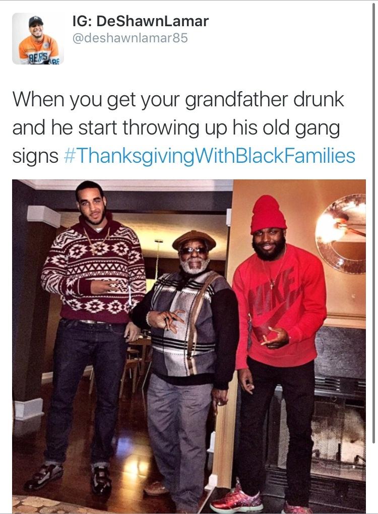 The best Thanksgivingwithblackfamilies memes :) Memedroid