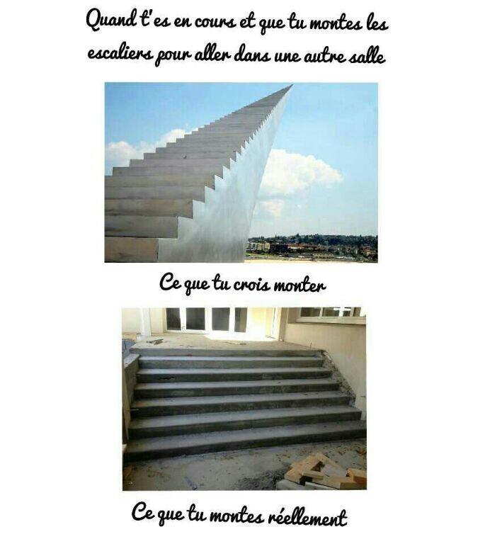 Escaliers. - meme