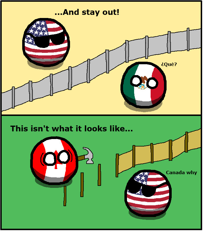 Canada why? - meme