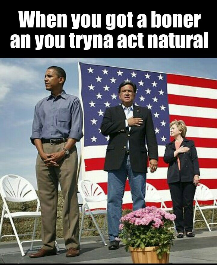 Obama Boner - meme