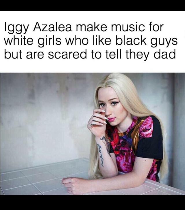 Iggy Azaleas voice annoys me - meme