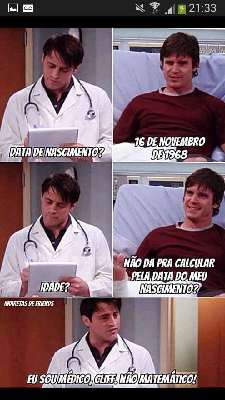 Medico ou matemático? ?? - meme