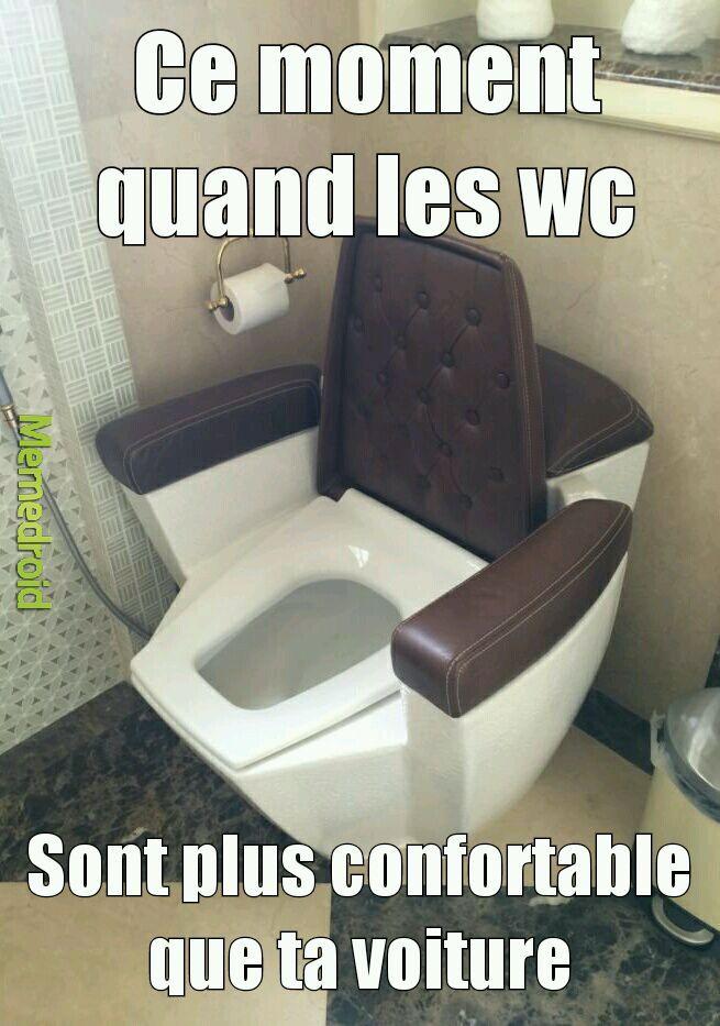 Mon temps aux wc se multiplierait par 5 - meme