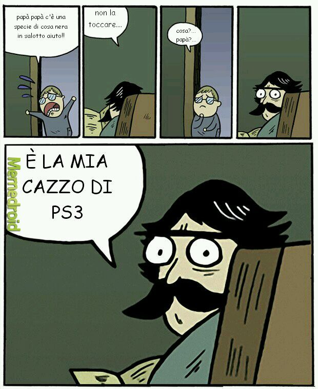 La sua ps3... - meme