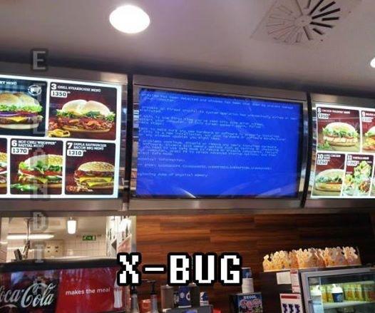X-bug - meme