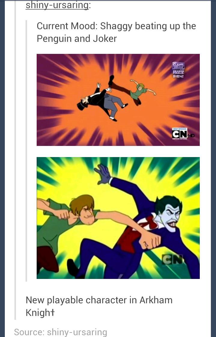 Better than the Batgirl DLC - meme
