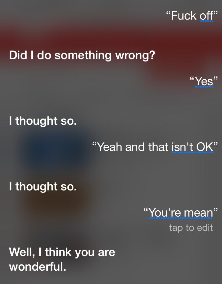 I hate Siri - meme