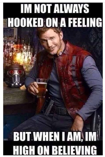 most interesting guardian of the Galaxy - meme