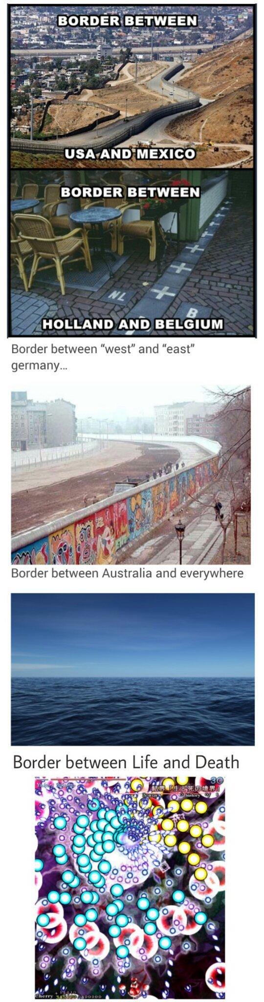 Borders... - meme