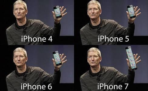 iPhones - meme