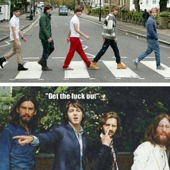 The Beatles - meme
