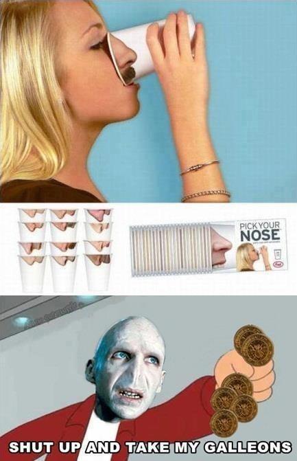 Voldemort dijo que si me sigues te seguire - meme