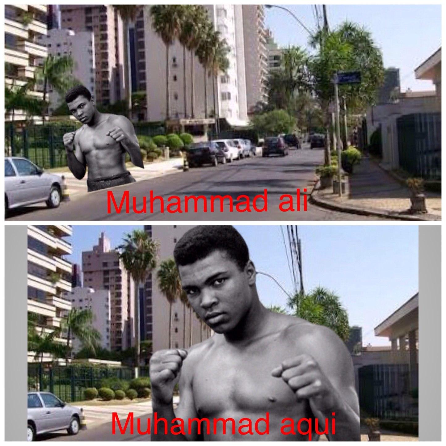 muhammad ali - meme