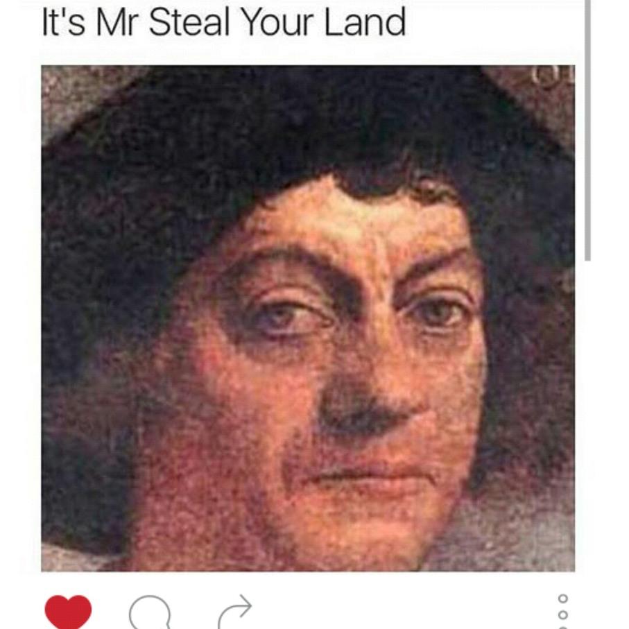 No ones land is safe - meme