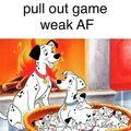 To weak