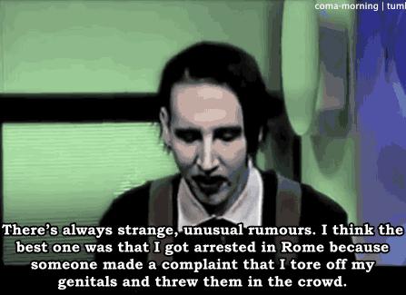I'm a Manson fan anyone else? - meme